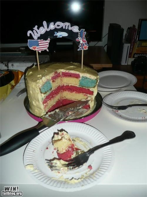 cake food patriotic red white and blue yummy - 4987244288