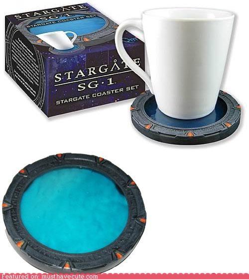 coaster mug ring Stargate Stargate SG-1 - 4987359232