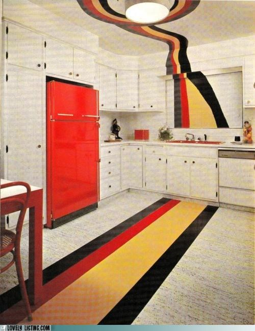 ceiling kitchen stripes - 4987385856
