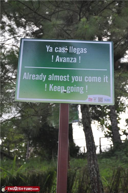 accidental sexy inspirational sign spanish