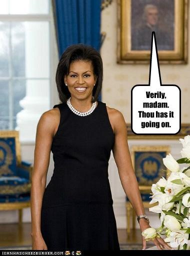 Michelle Obama political pictures thomas jefferson - 4987523584