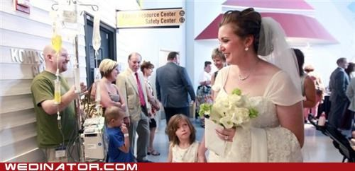 bride children funny wedding photos groom Hall of Fame hospital wedding - 4987548416