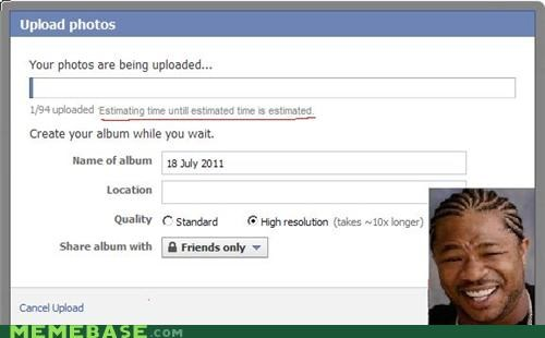estimate facebook photos yo dawg