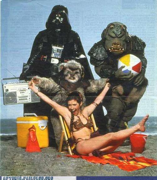 beach,classic,star wars