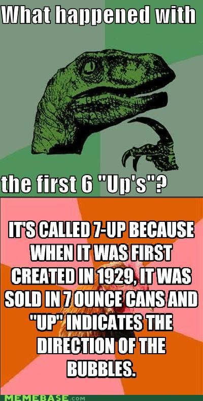 7-up,anti joke chicken,drinks,philosoraptor,Reframe