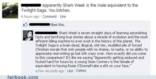 oh snap shark week twilight win