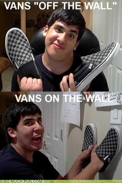brand,literalism,off,off the wall,on,opposites,shoes,slogan,vans