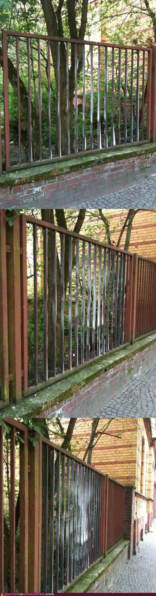 art face fence paint wtf - 4988450304
