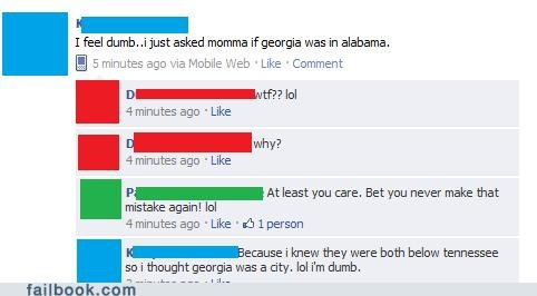 Alabama,Smarter Than A 5th Grader,geography,Georgia