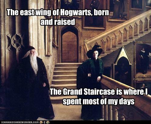 actor celeb funny Harry Potter maggie smith Michael Gambon richard harris sci fi - 4988526848