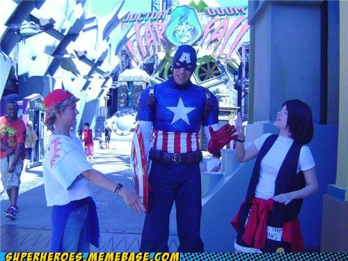 bill-ted captain america costume Super Costume - 4988877056