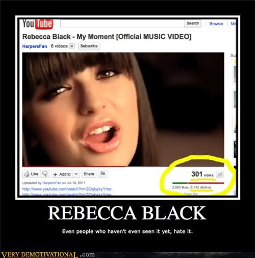 hate Music Rebecca Black Terrifying wtf - 4988982528