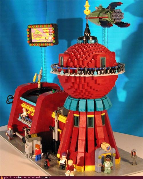 futurama,lego,planet express,wtf