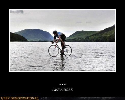 bike hilarious jesus Like a Boss water wtf - 4989428736