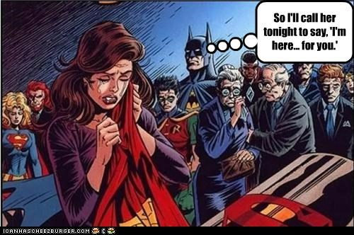 batman dead lois lane Sad Super-Lols superman - 4989509888