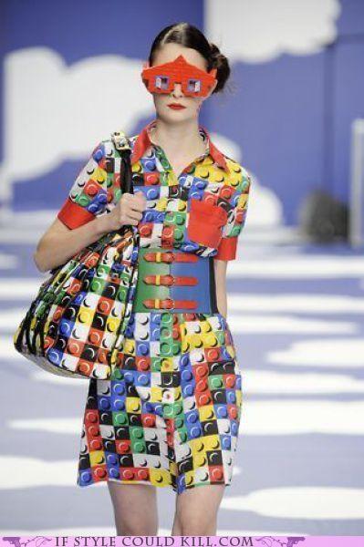 cool accessories Jean Charles de Castelbajac legos runway - 4989596160