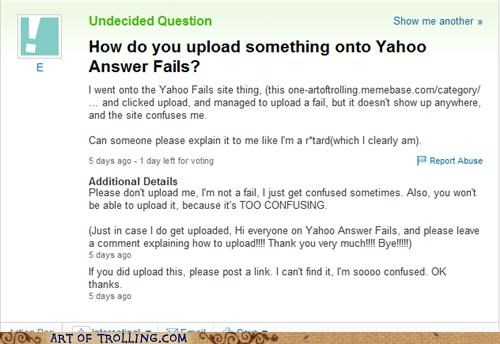 FAILS,How To,meta,Yahoo Answer Fails