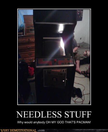 hilarious needless stuff pacman video games - 4989739008