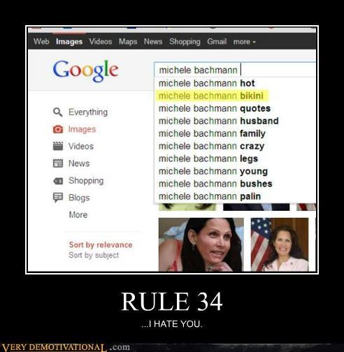 bikini,hilarious,Michele Bachmann,Rule 34,wtf