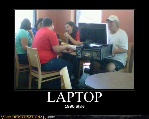 dude hilarious laptop old PC wtf