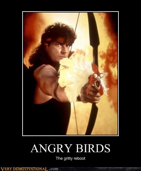 angry birds,hilarious,hot shots,Movie,reboot,wtf