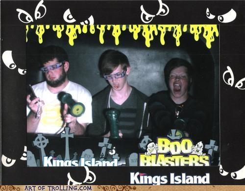 blaster,derp,game,kings island,shoot