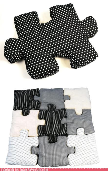 fabric Pillow puzzle soft - 4990159616