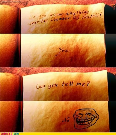Trolling Tom Riddle