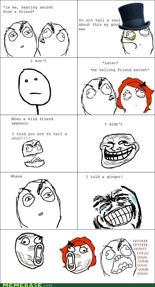 ginger,Rage Comics,secrets,soul,soulless