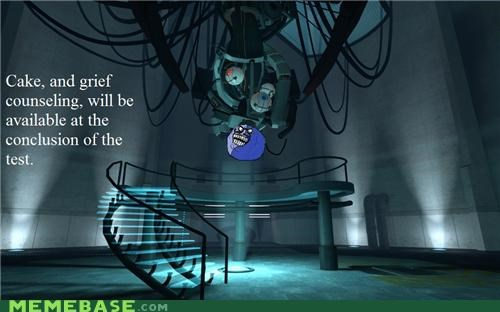 counseling gladOS grief i lied Portal video games - 4990521600