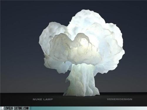 lamp,mushroom cloud,nuclear blast,nuke