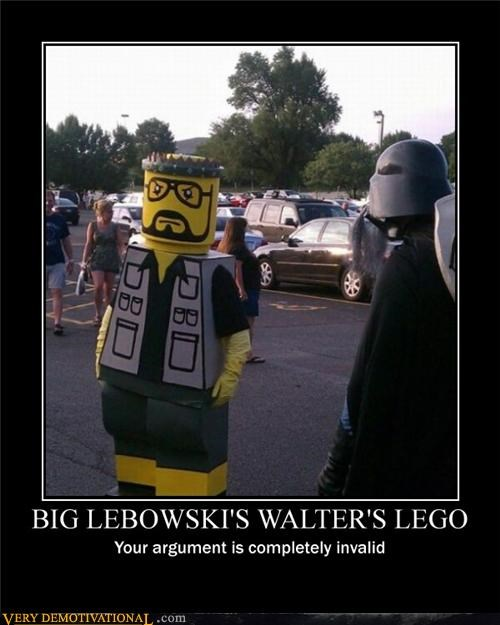 Big Lebowski Invalid Argument lego Pure Awesome walter - 4990612480