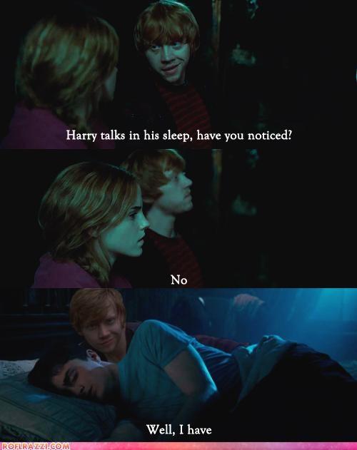 comic Daniel Radcliffe emma watson funny Harry Potter rupert grint sci fi - 4990624256