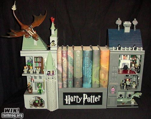 book ends books Harry Potter reading is - 4990626560