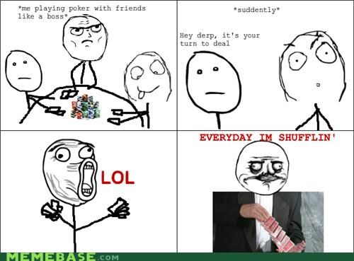 every day lol guy me gusta Rage Comics shufflin