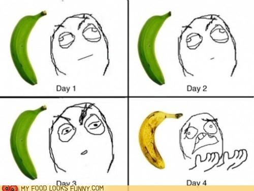 annoying,banana,guh,overripe,rage comic,ripe,rot
