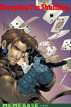 best of week gambit Random Heroics shufflin x men - 4990775552