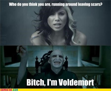 deathly hallows Harry Potter voldemort - 4990820864