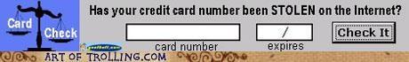 credit card FAIL security shoppers beware stolen - 4990987008