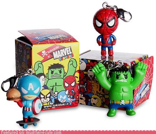 marvel superheroes tokidoki toys vinyl - 4991207936