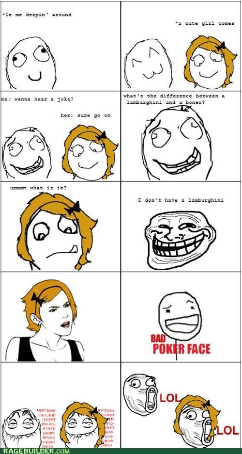 lamborghini,p3n0r,Rage Comics,the difference