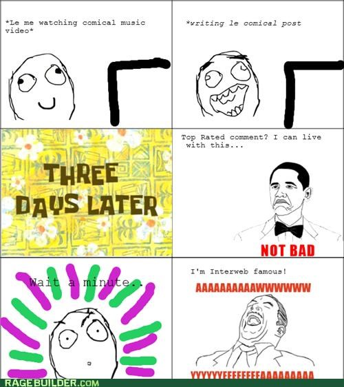 aw yeah brobama internet famous not bad Rage Comics - 4991488256