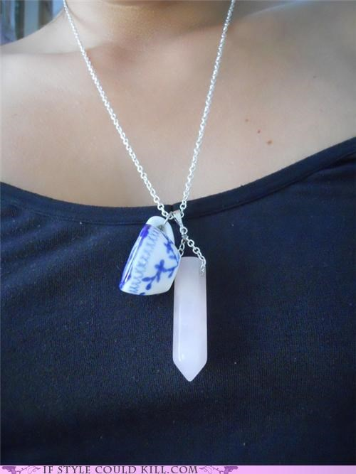 cool accessories,crystal,magic,necklaces,tea