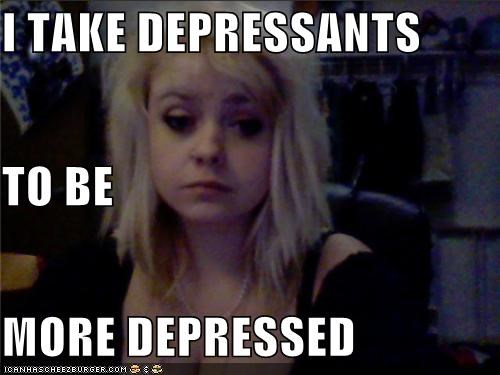 depressants,depressed,good idea,weird kid