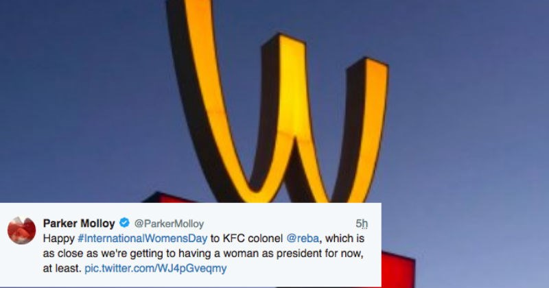 McDonald's twitter feminism fast food women - 4992517