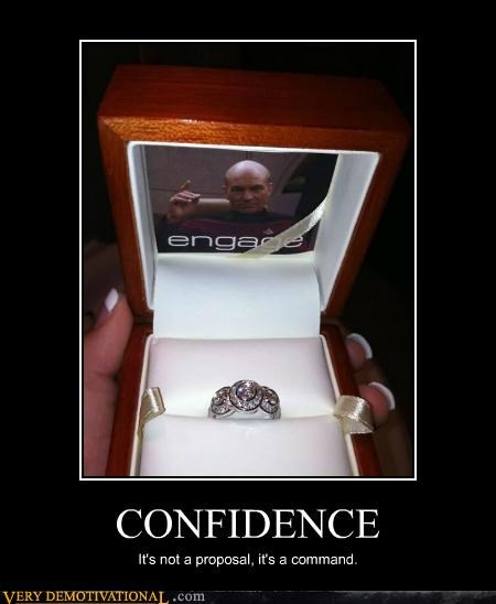 engage Hall of Fame hilarious jean-luc picard wedding ring wtf - 4992673792