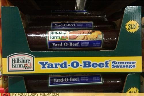 I want a yard of beef
