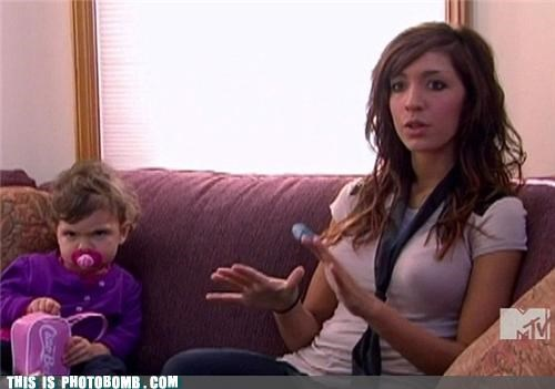 16 and Pregnant binkie Kids are Creepers Too mtv teen mom that face