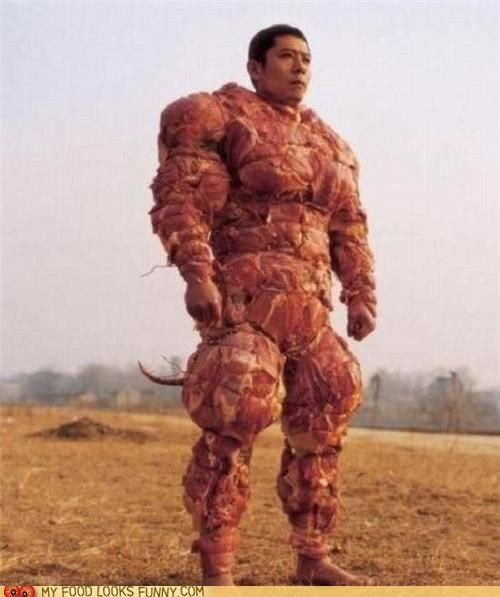 clothes meat muscles suit - 4993960448