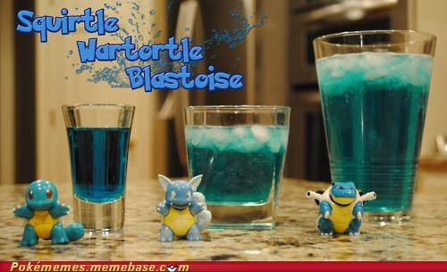 wartortle squirtle blastoise recipe cocktail drink - 4994135552
